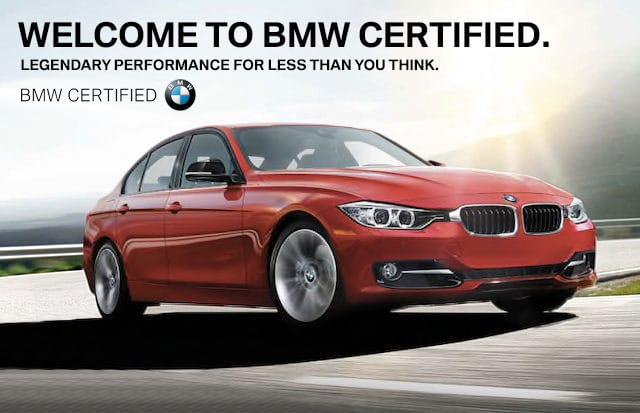 Bmw Certified Pre Owned >> Certified Pre Owned Offers